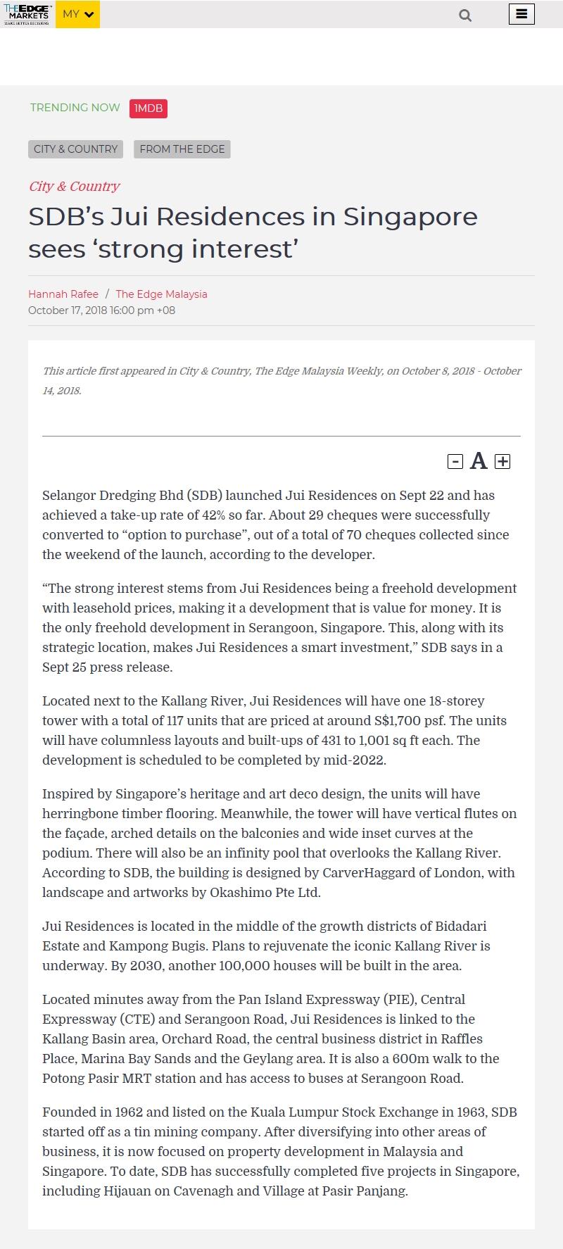 News - News & Events | Selangor Dredging Berhad